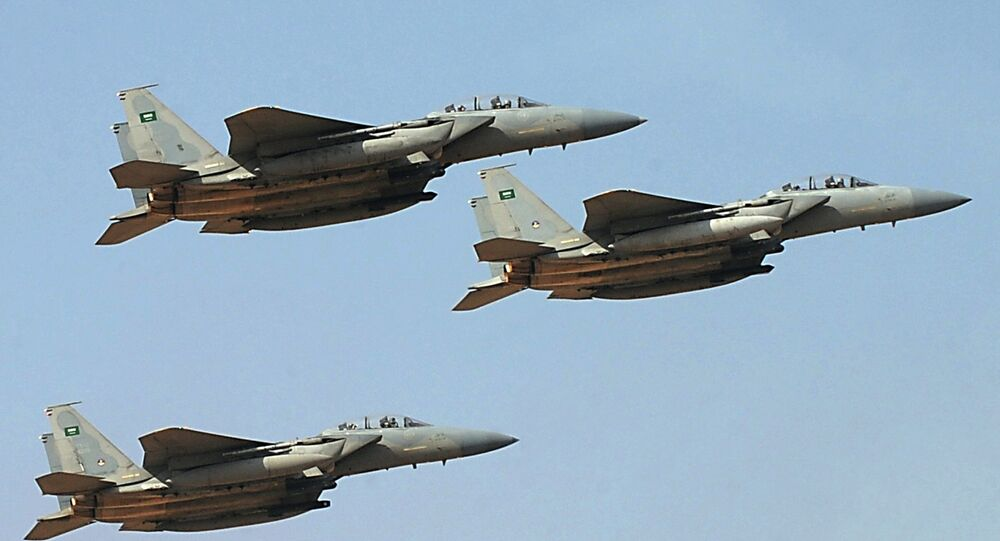 Jet fighters of the Saudi Royal air force