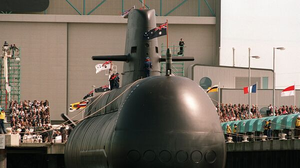 Collins class submarine - Sputnik International