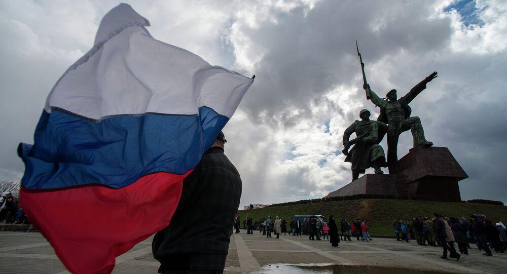 Crimean Spring anniversary in Crimea