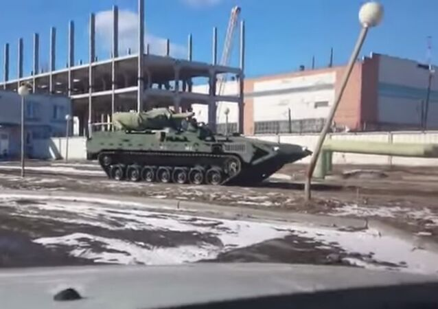 T-15 Armata-based heavy armored vehicle