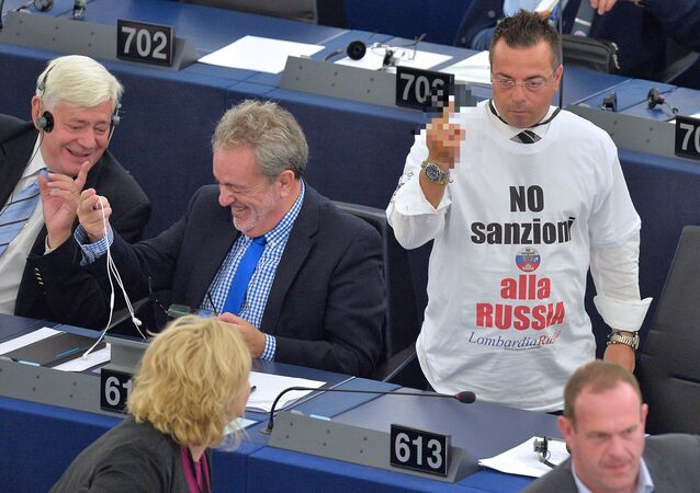 Eight or nine EU countries speak against the anti-Russia sanctions and their prolongation, a senior Russian lawmaker said.
