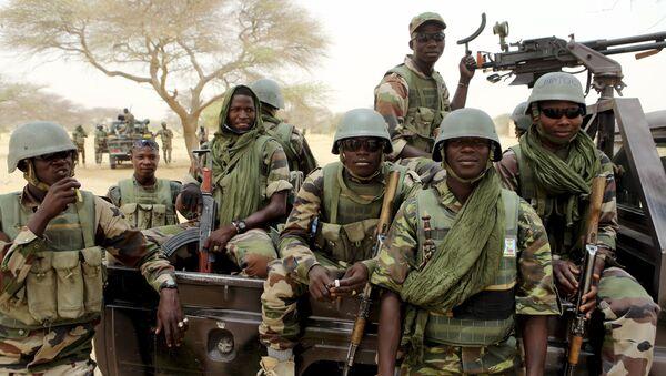Nigerien special forces prepare to fight Boko Haram in Diffa March 26, 2015 - Sputnik International
