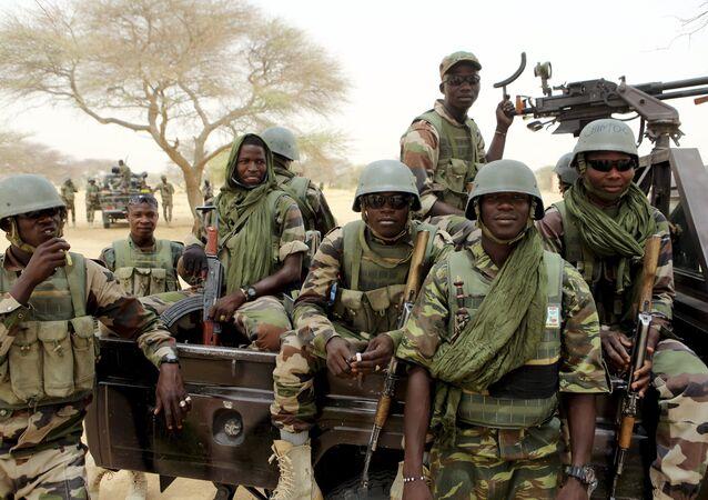 Nigerien special forces prepare to fight Boko Haram in Diffa March 26, 2015