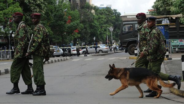 Kenyan police arrested five suspects in connection with Thursday's attack at Garissa University College. - Sputnik International