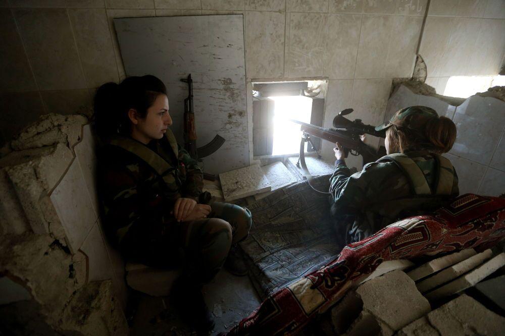 The Pride of Syria: Female Warriors Defending Damascus