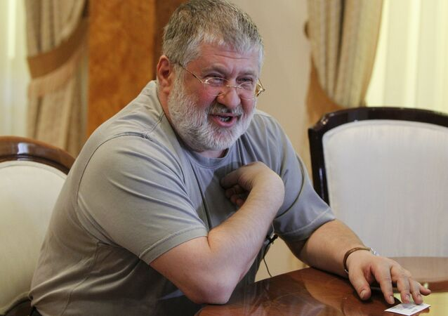 Igor Kolomoisky, billionaire and governor of the Dnipropetrovsk region, speaks during an interview in Dnipropetrovsk