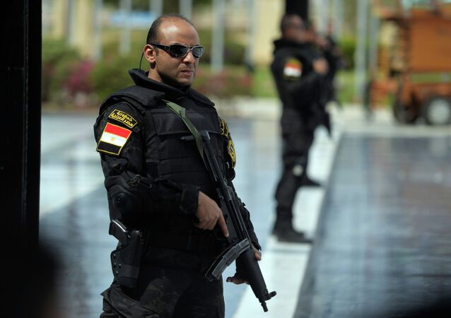 Egyptian police. File photo
