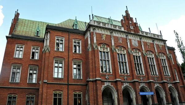 Historic Jagiellonian University, one of the oldest and most prestigious universities in Europe. - Sputnik International