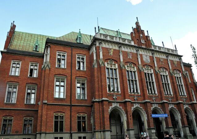 Historic Jagiellonian University, one of the oldest and most prestigious universities in Europe.