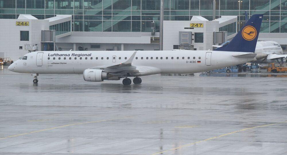 Lufthansa CityLine Embraer ERJ 195