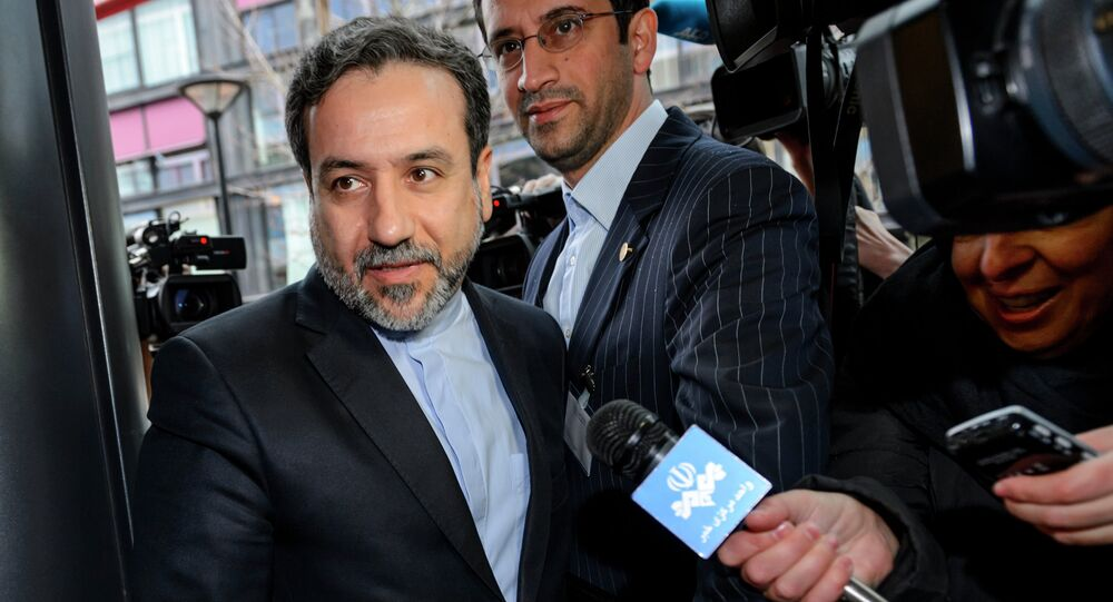 Iranian Deputy Foreign Minister Abbas Araqchi. File photo