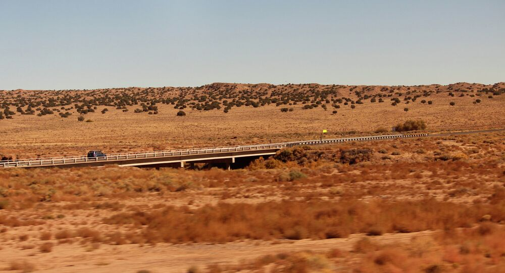 New Mexico, viewed from Amtrak's Southwest Chief