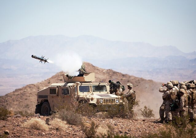 The art of anti-armor warfare: 3/3 'Missile Marines' prepare for enemy by shooting TOW, Javelin missiles
