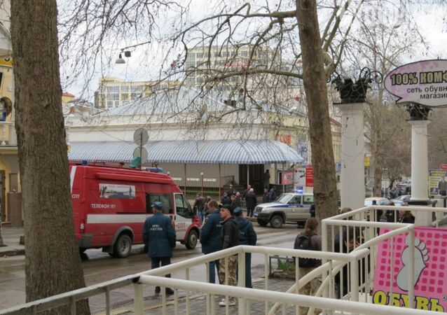 Security officials in Sevastopol have reported the discovery of what may have been an improvised explosive device in the southern Crimean city of Sevastopol, Crimean news agency KrimInform reports.