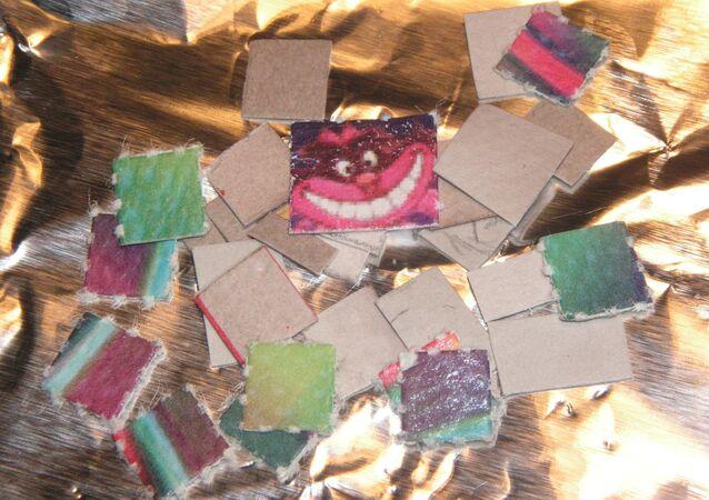 LSD blotters