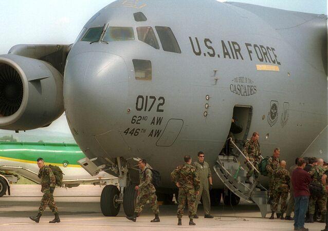 U.S. military instructors. File photo