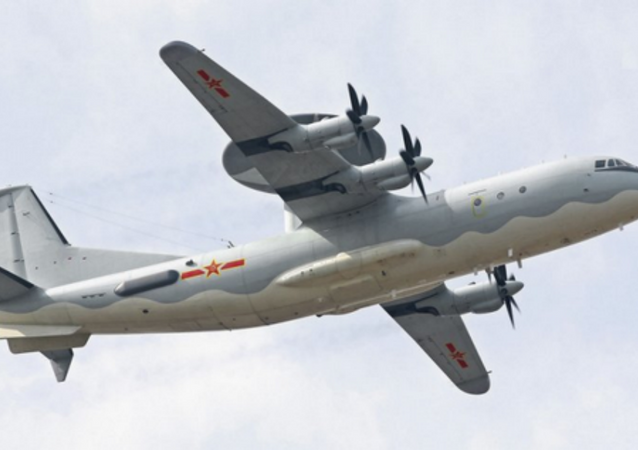 The new AEW&C aircraft, the Shaanxi KJ-500