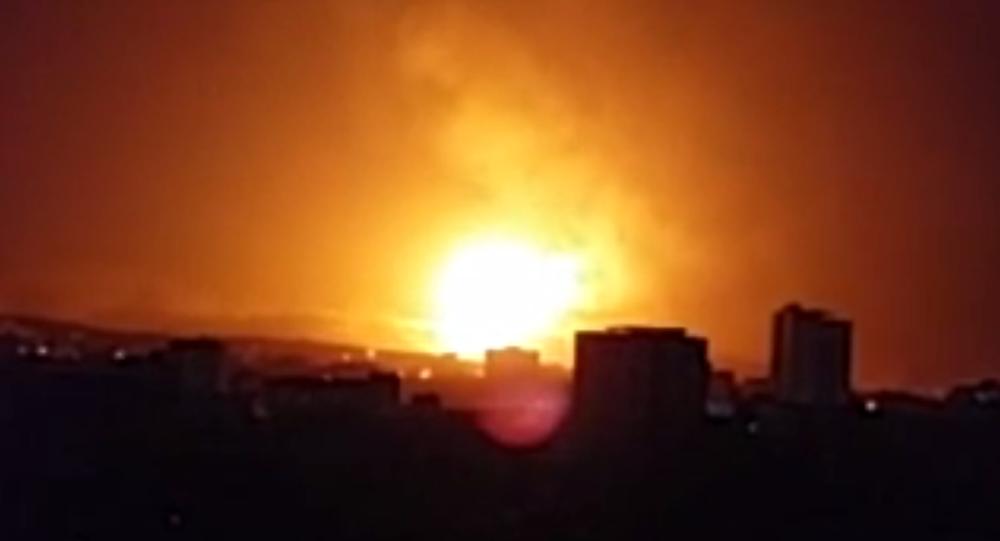Bombing in Sanaa