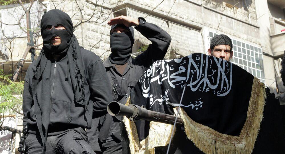 Members of jihadist group Al-Nusra Front