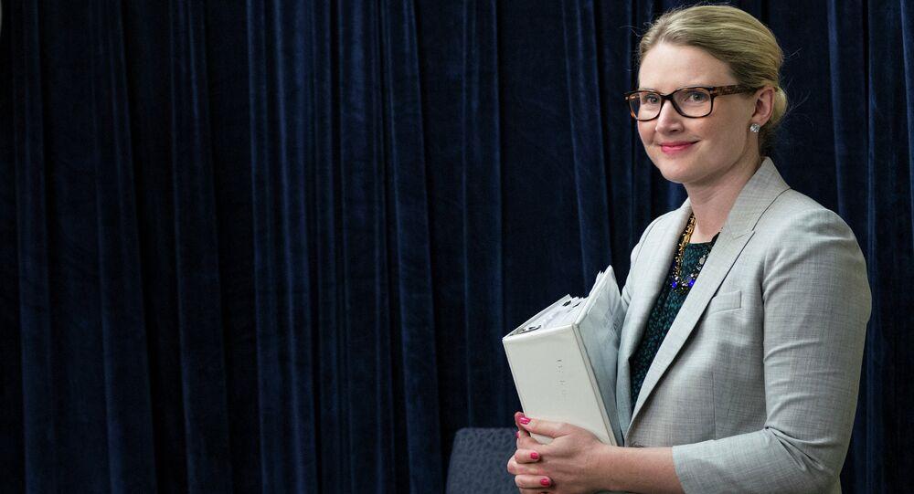 State Department Deputy Spokeswoman Marie Harf