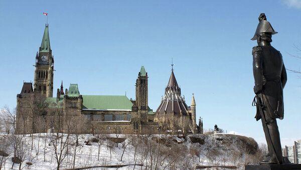 Canadian Parliament building - Sputnik International