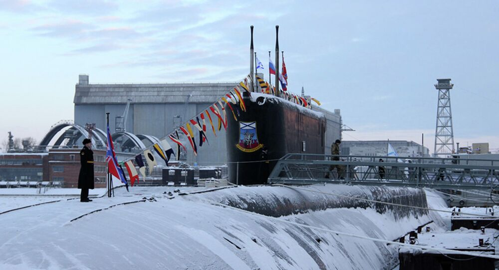 The construction of the last of Russia's nuclear-powered Borey-class submarines will not be affected by the current budget sequester, the director general of the Rubin design bureau said Tuesday