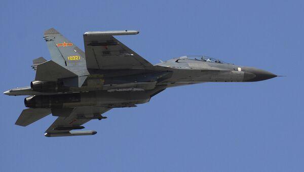Chinese Military Fighter Jet Su-27 Flanker - Sputnik International