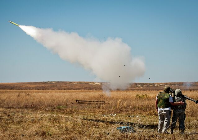 The FIM-92 Stinger man-portable infrared homing surface-to-air missile, capable of shooting down everything from military aircraft and helicopters to civilian airliners, with an effective firing range of 5 miles (8 km).