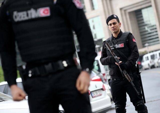 Members of Turkey's special security forces