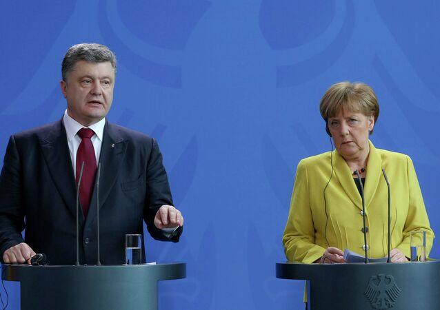 Petro Poroshenko visits Germany