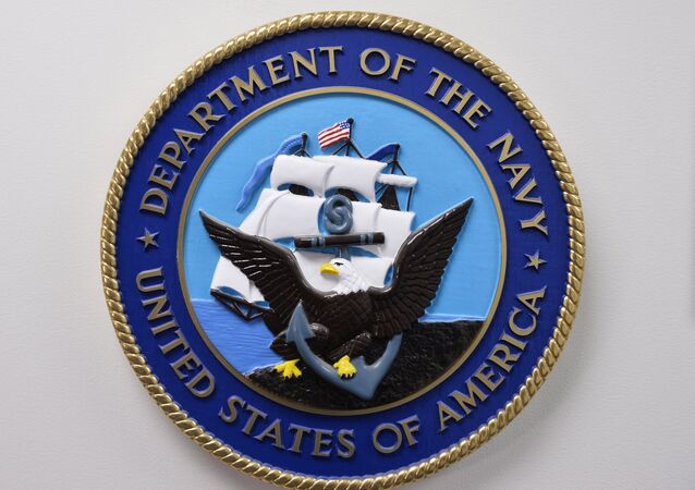 The United States Department of the Navy emblem