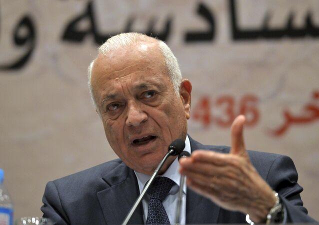 Secretary General of the Arab League Nabil Arabi