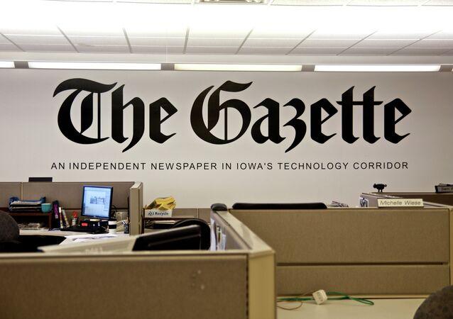 The Gazette Newspaper Cedar Rapids Iowa