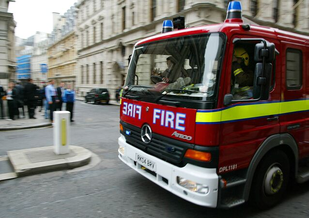 Fire engine, London