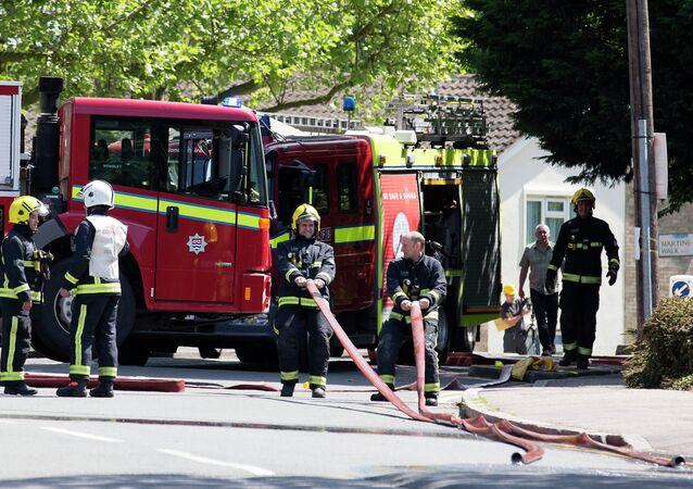 British firemen (File)