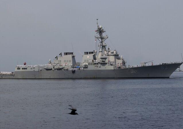 USS Howard (DDG 83), an Arleigh Burke-class guided-missile destroyer
