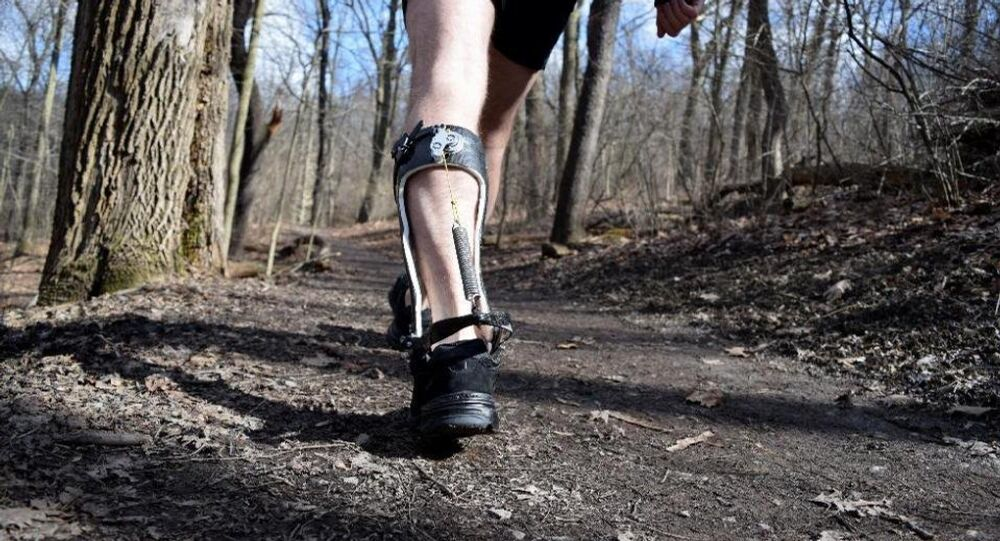 Scientists have developed a device that makes for more energy efficient walking, a human movement few scientists believed could be improved upon.