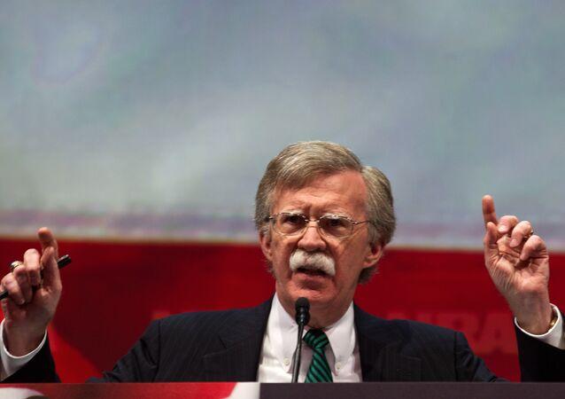 Former US Ambassador to the UN John Bolton