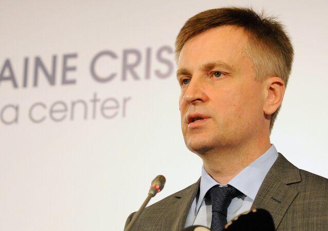 Press briefing by Ukrainian Security Service Chairman Valentin Nalivaichenko