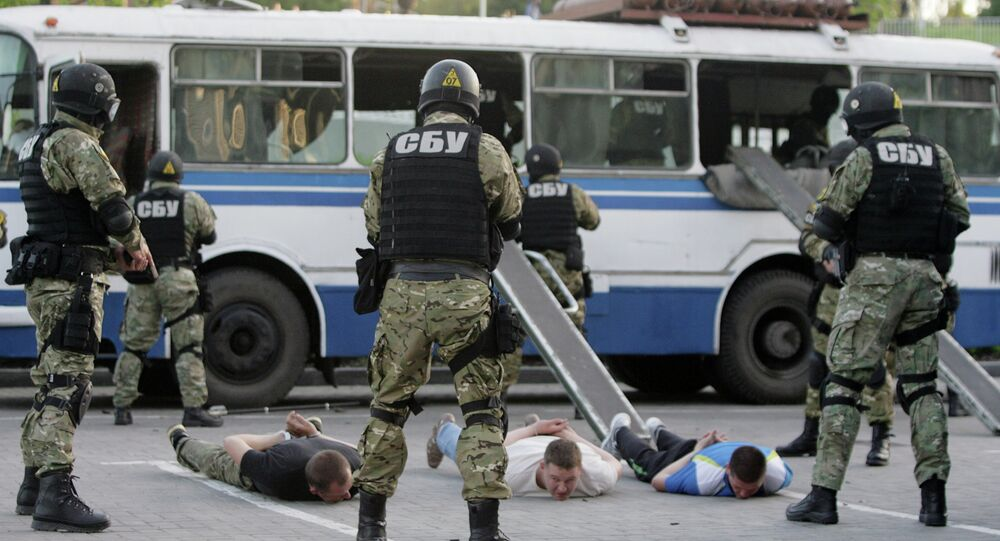 Officers of Ukraine's special unit Security Service