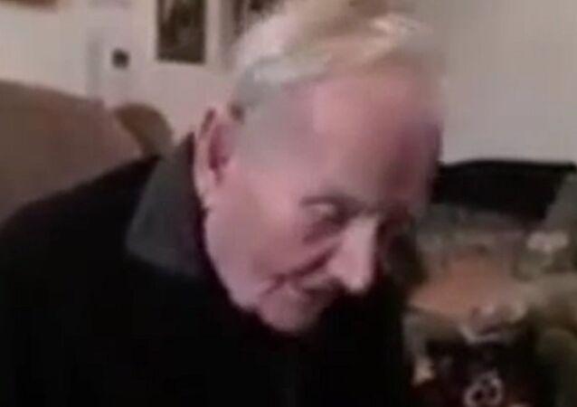 Britain's oldest World War II prisoner Robert Clark