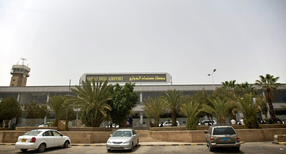 Sanaa International Airport in Sanaa, Yemen