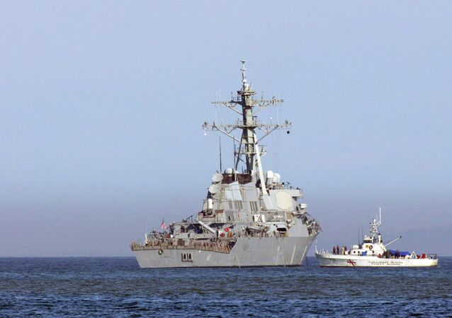 The USS Barry, an Arleigh Burke class guided-missile destroyer