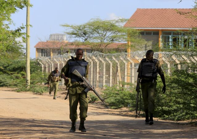 Kenya Defense Force soldiers