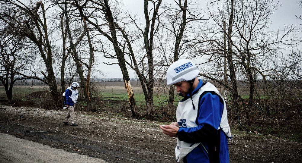 International observers of the Organization for Security and Co-operation in Europe (OSCE)