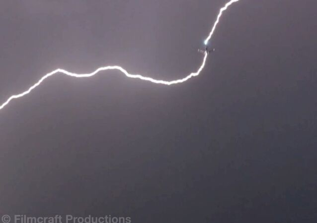 Two Airplanes Struck By Lightning Over Sea-Tac Airport