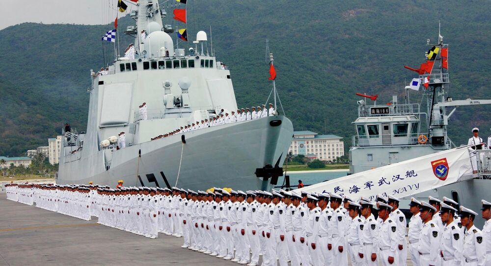 Chinese naval fleet