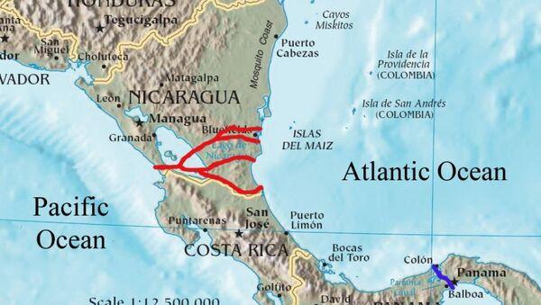 Nicaragua Canal - Sputnik International