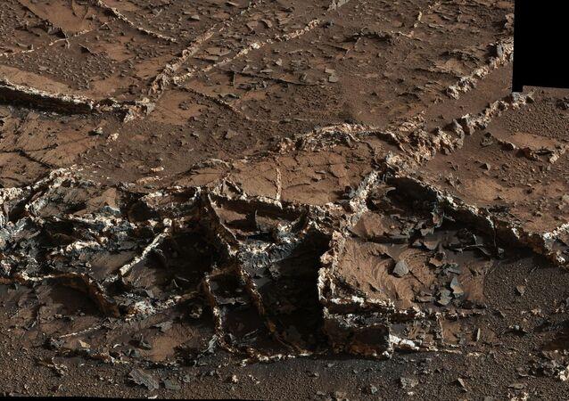 Mars mineral vein
