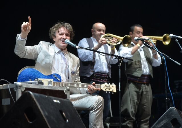 Goran Bregovic concert with orchestra in Moscow GlavClub